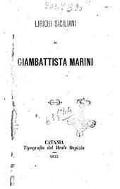 Lirichi siciliani Gaimbattista Marini