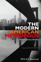 The Modern American Metropolis PDF