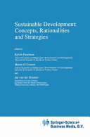 Sustainable Development  Concepts  Rationalities and Strategies