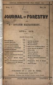 Forestry: A Journal of Forest and Estate Management, Volume 1
