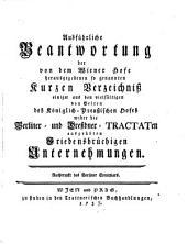 Acta publica: oder Sammlung aller Staatsschriften, welche seit denen im Jahr 1756 zu London und Versailles geschlossenen Allianz-Tractaten an das Licht gekommen sind und noch kommen werden, Volume 2