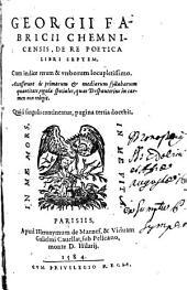 De re poetica: libri VII