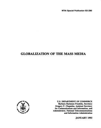 Globalization of the Mass Media PDF