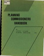 Planning Commissioners Handbook