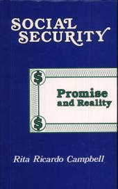 Social Security: Promise and Reality