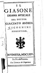 Il Giasone: Drama musicale