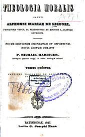 Theologia moralis: Tractatus de eucharistia et poenitentia, Volume 5