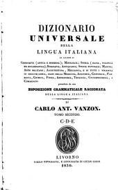 Dizionario universale della lingua italiana ... ; preceduto da una esposizione grammaticale ragionata della lingua italiana