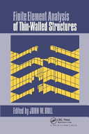 Finite Element Analysis of Thin-Walled Structures