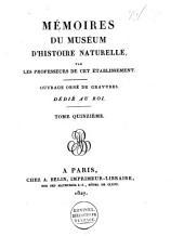 Mémoires du Muséum d'histoire naturelle: Volume36