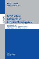 AI*IA 2005: Advances in Artificial Intelligence