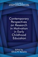 Contemporary Perspectives on Research in Motivation in Early Childhood Education PDF