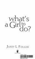 What s a Girl to Do  PDF