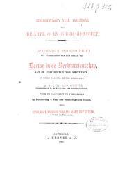 Beschouwingen naar aanleiding van de artt. 63 en 65 der grondwet