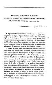 Excursions et séjour de M. Agassiz sur la mer de glace du Lauteraar et du Finsteraar, en société de plusieurs naturalistes