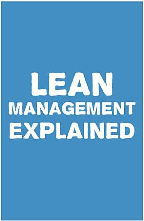 Lean Management Explained PDF