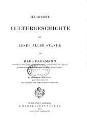 Illustrirte Culturgeschichte: fur Leser aller Stände