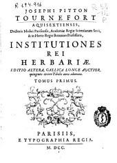 Corollarium Institutionum rei herbariae: Volume 1