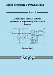 Joint Iterative Channel and Data Estimation in High Mobility MIMO-OFDM Systems