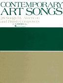 Contemporary Art Songs