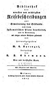 F. Depons ... historish-geographisch-statistische nachrichten von der general-hauptmannschaft Caracas, oder dem östlichen theile der spanischen landschaft Terrafirma in Süd-Amerika: Gesammelt auf einer reise und während des aufenthalts in diesem lande in den jahren 1801 bis 1804. Auszugsweise aus dem französischen übersetzt