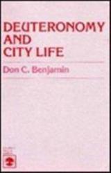Deuteronomy And City Life Book PDF