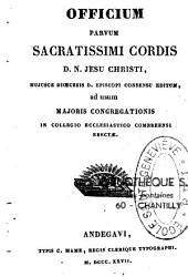 Officium parvum sacratissimi cordis Jesu Christi