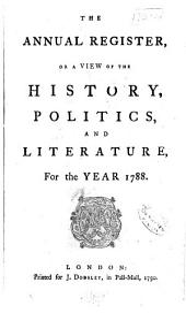 Annual Register: Volume 30