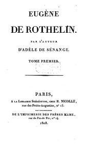 Eugène de Rothelin: Volume1