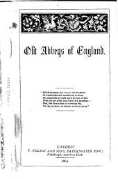 Old abbeys of England