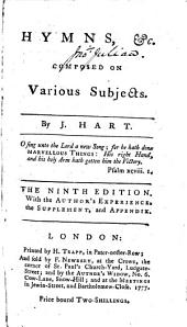 Hymns, &c. composed on various subjects ... The ninth edition, etc