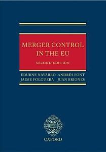 Merger Control in the European Union PDF