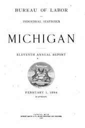Annual Report of the Bureau of Labor and Industrial Statistics: Volume 11