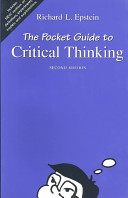 The Pocket Guide to Critical Thinking