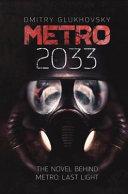 METRO 2033. English Hardcover Edition.