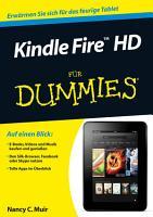 Kindle Fire HD f  r Dummies PDF