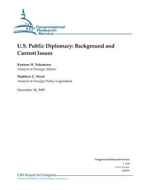 U  S  Public Diplomacy PDF