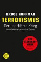 Terrorismus   Der unerkl  rte Krieg PDF