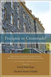 Precipice or Crossroads?: Where America's Great Public Universities Stand and Where They Are Going Midway through Their Second Century