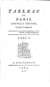 Tableau de Paris: Volumes5à6
