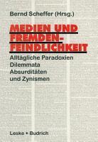Medien und Fremdenfeindlichkeit PDF