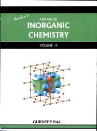 Advanced Inorganic Chemistry  Vollume II