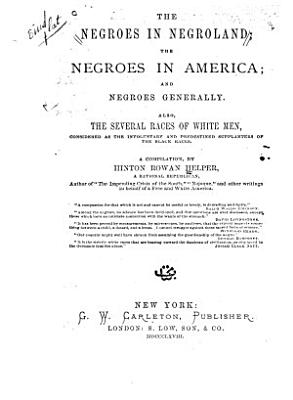 The Negroes in Negroland