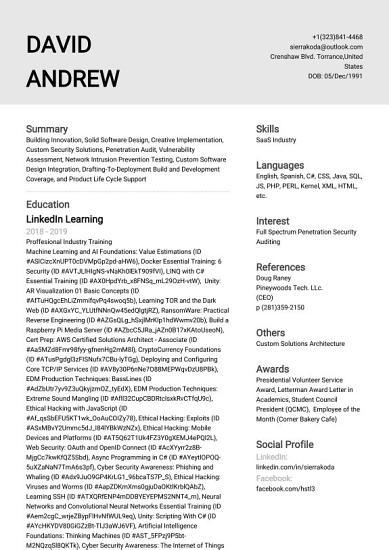 Creative Solutions Architect   David J  Andrew PDF