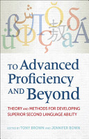To Advanced Proficiency and Beyond PDF