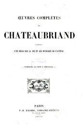 Oeuvres complètes de Chateaubriand: Itinéraire de Paris à Jérusalem