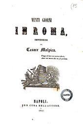 Venti giorni in Roma impressioni di Cesare Malpica