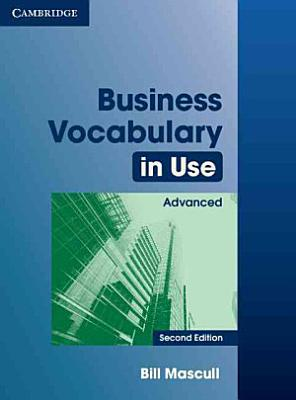 Business Vocabulary in Use Advanced with Answers PDF