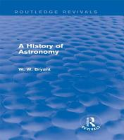 A History of Astronomy  Routledge Revivals  PDF