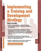Implementing a Training and Development Strategy PDF